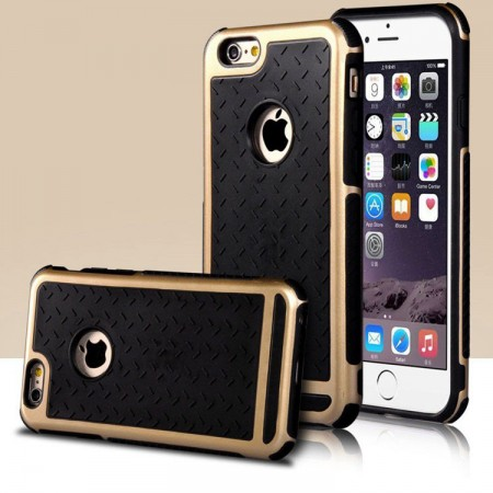iPhone 6 / 6s Case Ultra Dun TPU Hybrid (Goud)