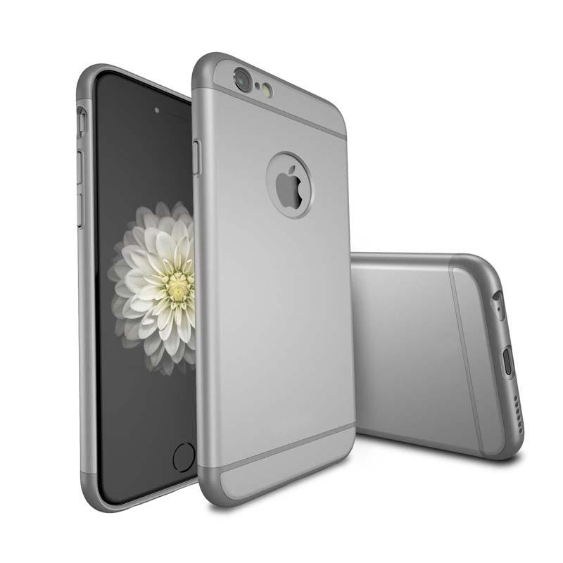 Iphone 6 Plus 6s Plus Case Luxury Design Zilver Coeber