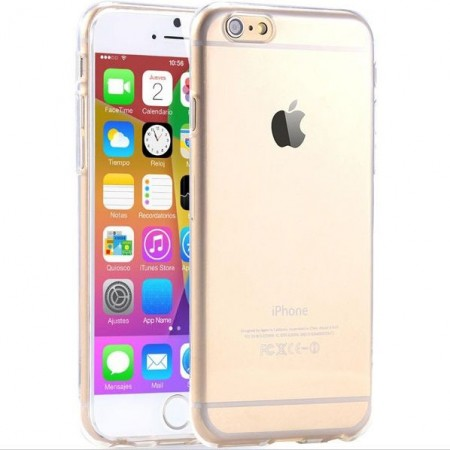 iPhone 6 / 6s Case transparant flexibel siliconen